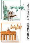 Landmarks Illustration   New...