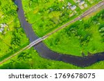 Aerial View Landscape Of...