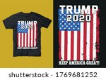 trump 2020 keep america great ... | Shutterstock .eps vector #1769681252