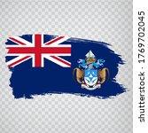 flag tristan da cunha from...