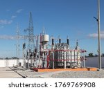 Outdoor High Voltage Substatio...