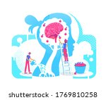 acquiring experiences flat... | Shutterstock .eps vector #1769810258