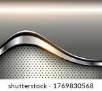 silver metallic background  3d...   Shutterstock .eps vector #1769830568