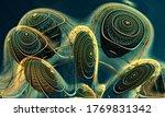 abstract background 3d ...   Shutterstock . vector #1769831342