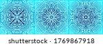 italian ceramic tile pattern....   Shutterstock .eps vector #1769867918