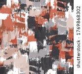 brush stroke artistic seamless... | Shutterstock .eps vector #1769868302