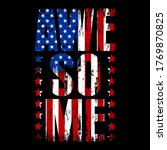 american flag  with a text ... | Shutterstock .eps vector #1769870825