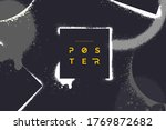 abstract vector background with ... | Shutterstock .eps vector #1769872682