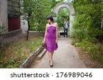 girl leaving her boyfriend | Shutterstock . vector #176989046