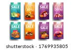 autumn sale  large collection...   Shutterstock .eps vector #1769935805