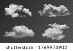 realistic fluffy clouds... | Shutterstock .eps vector #1769973902