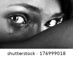 emotional portrait of abused ... | Shutterstock . vector #176999018