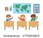 vector cute happy...   Shutterstock .eps vector #1770053825