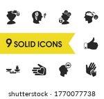 anatomy icons set with...
