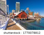 View On Boston City Center At...
