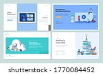 web page design templates of... | Shutterstock .eps vector #1770084452