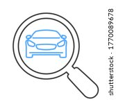 car search icon for web and apps | Shutterstock .eps vector #1770089678