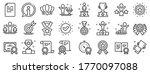 winner cup  goal target ... | Shutterstock .eps vector #1770097088