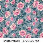 floral background. flower rose... | Shutterstock .eps vector #1770129755