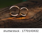 Two Wedding Engagement Rings On ...