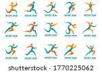 set of sports logos  running... | Shutterstock .eps vector #1770225062