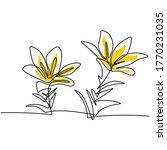 continuous line artwork... | Shutterstock .eps vector #1770231035