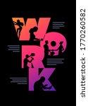 work business concept poster... | Shutterstock .eps vector #1770260582