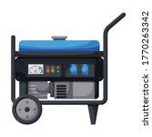 Generator Vector Icon.cartoon...