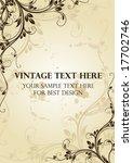 vintage cover   Shutterstock .eps vector #17702746