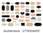 tags frames shapes label set.... | Shutterstock .eps vector #1770316655