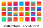 bright vibrant colorful set of... | Shutterstock .eps vector #1770377945