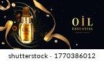 oil essential  luxury cosmetic... | Shutterstock .eps vector #1770386012