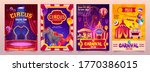 circus show banners  big top... | Shutterstock .eps vector #1770386015