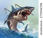Great White Shark Zombie...