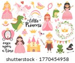 princess collection with golden ... | Shutterstock .eps vector #1770454958