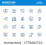 simple set of marketing line...   Shutterstock .eps vector #1770462722