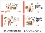 family photo landing page... | Shutterstock .eps vector #1770467342