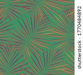 spring seamless jungle vector... | Shutterstock .eps vector #1770484892