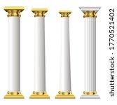 antique columns vector design...   Shutterstock .eps vector #1770521402