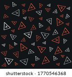 simple geometric red and white... | Shutterstock .eps vector #1770546368