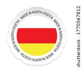 north ossetia flag .made in... | Shutterstock .eps vector #1770567812