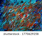 Abstract Art Painting Of The...