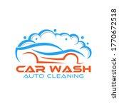 car wash logo vector... | Shutterstock .eps vector #1770672518