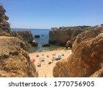 Cliffside Views Of The Beach...