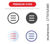 list icon pack isolated on...