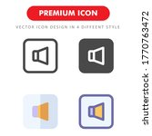 sound icon pack isolated on...