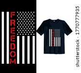 freedom. 4th july t shirt... | Shutterstock .eps vector #1770777935