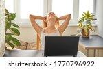portrait of an attractive woman ...   Shutterstock . vector #1770796922