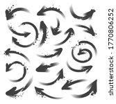 set of different grunge brush... | Shutterstock .eps vector #1770806252
