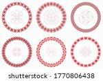 Slavic Geometric Round Patterns ...